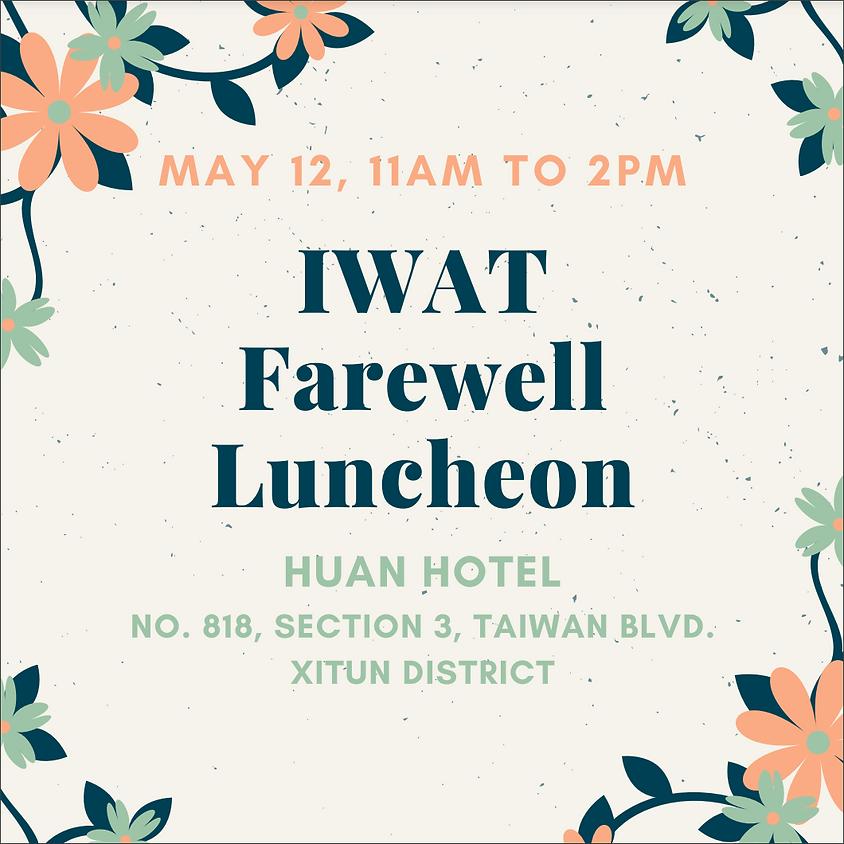 IWAT Farewell Luncheon
