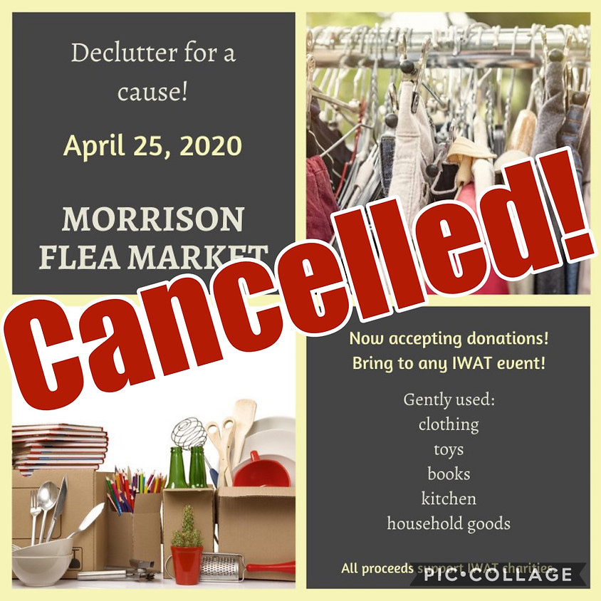 Flea Market Donation Collection - Cancelled