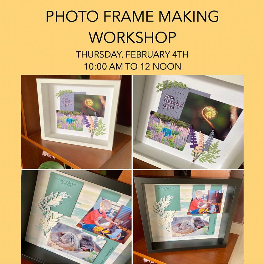 Photo Frame Making Workshop