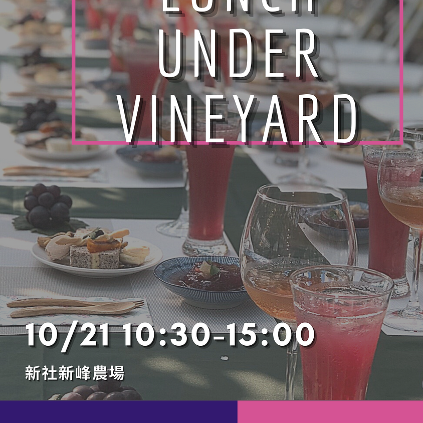 Lunch Under Vineyard