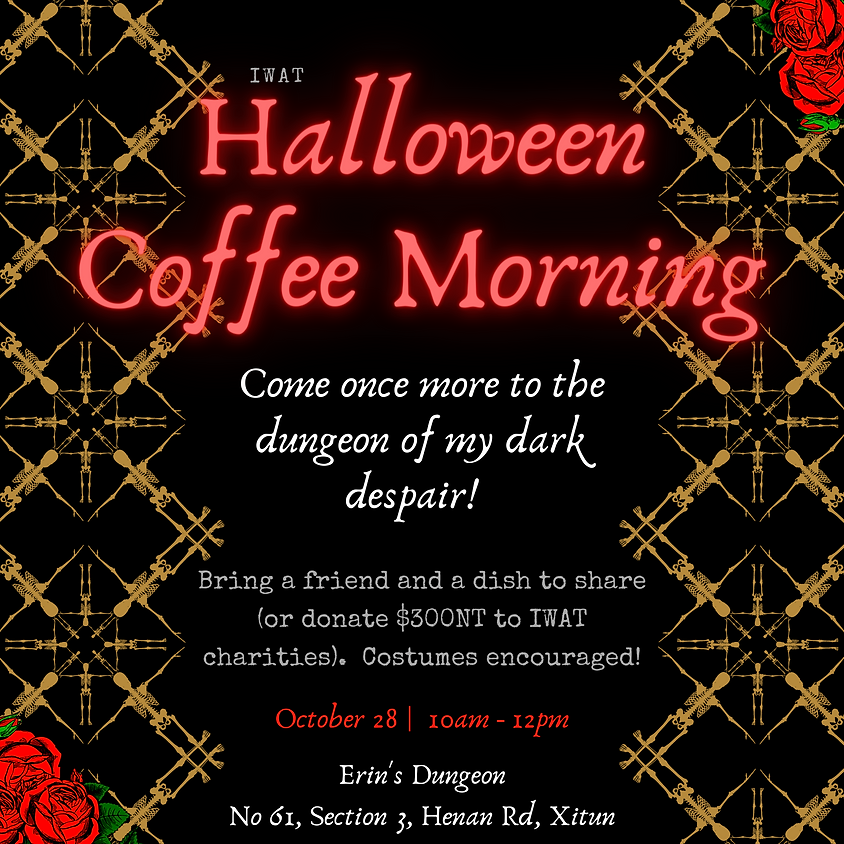 Halloween Coffee Morning