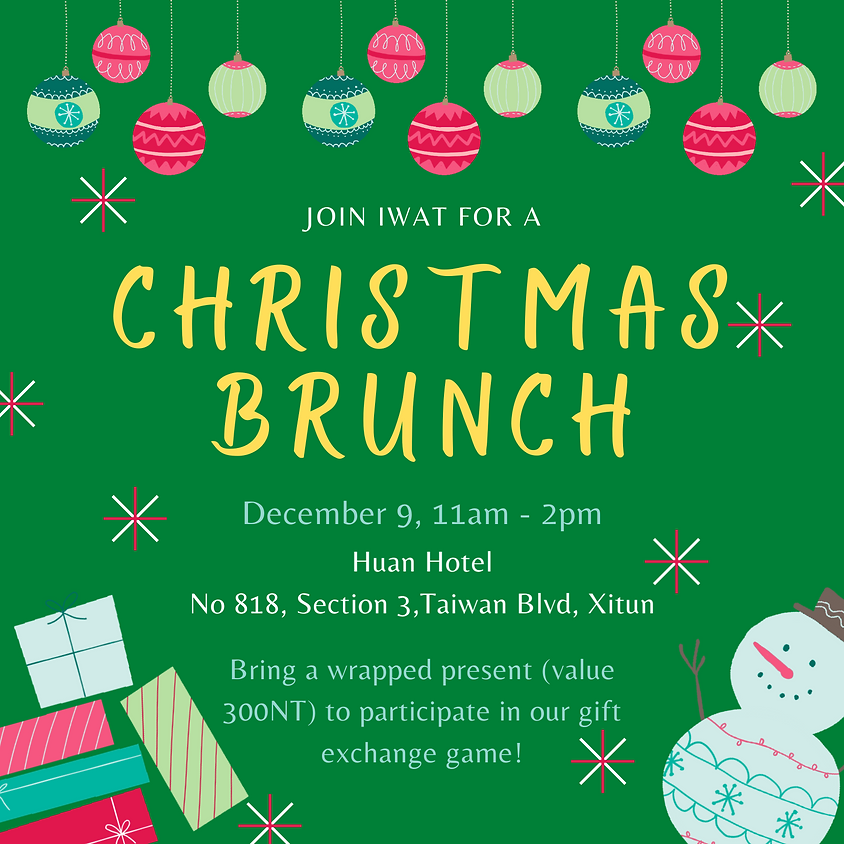 Christmas Brunch at the Huan Hotel
