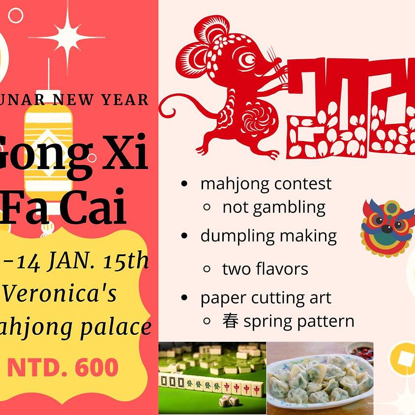 Dumpling and Mahjong Workshop