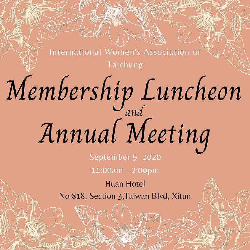 Membership Luncheon & Annual Meeting