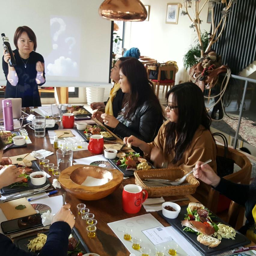 Oil-tasting workshop