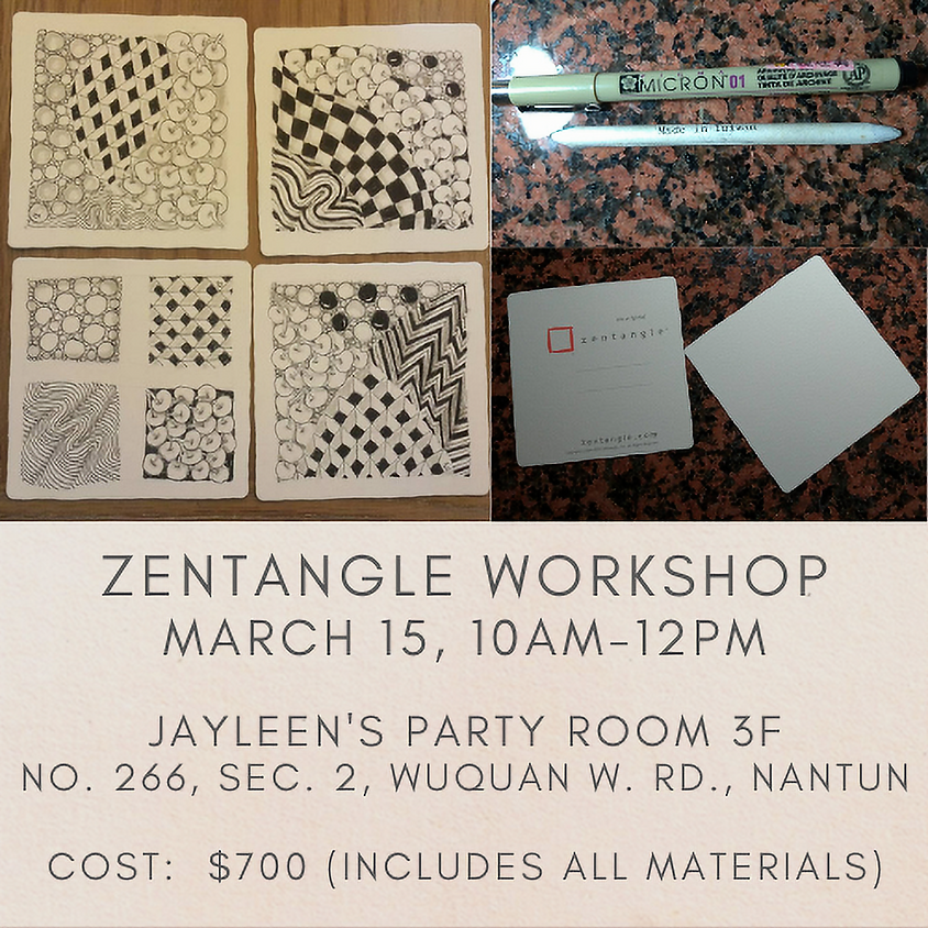 IWAT Zentangle Workshop
