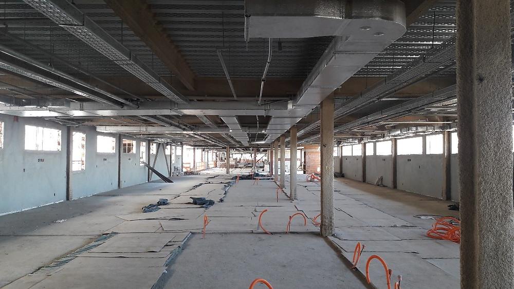 construção de hospital