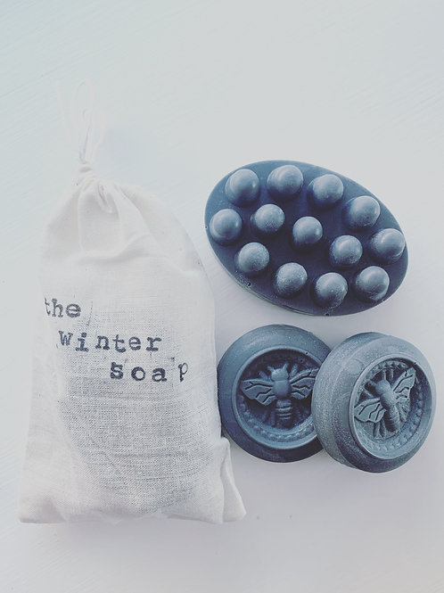 Winter Soap | Goat's Milk & Raw Honey Soap