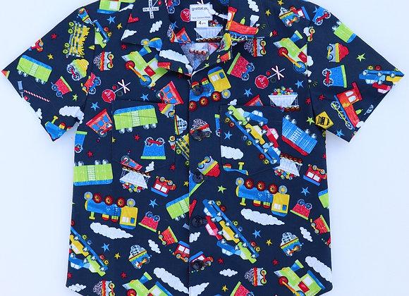 4 Yrs Trains Shirt