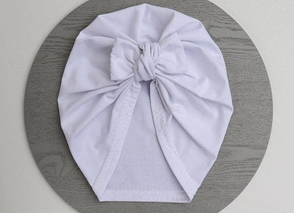 White Turban (Bow Removable)