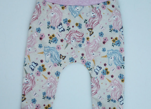 Pink Unicorn Harem Pants