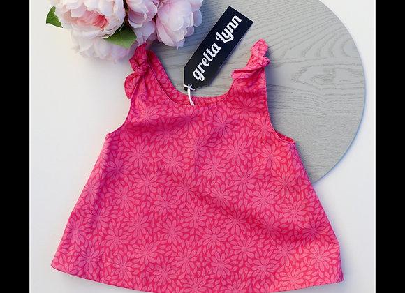 4 Yrs Pink Flower Swing Top