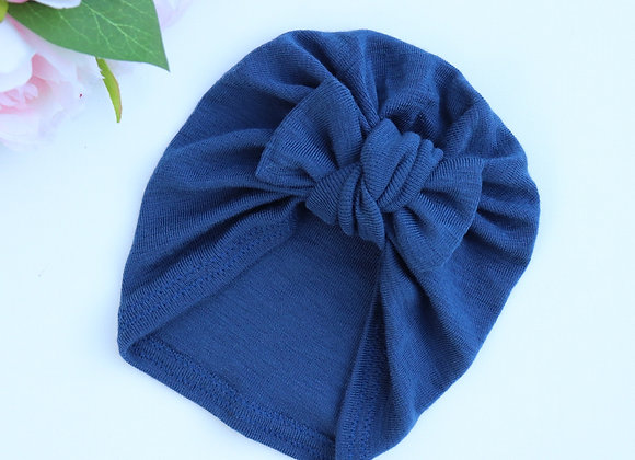 Blue Turban (Removable Bow)