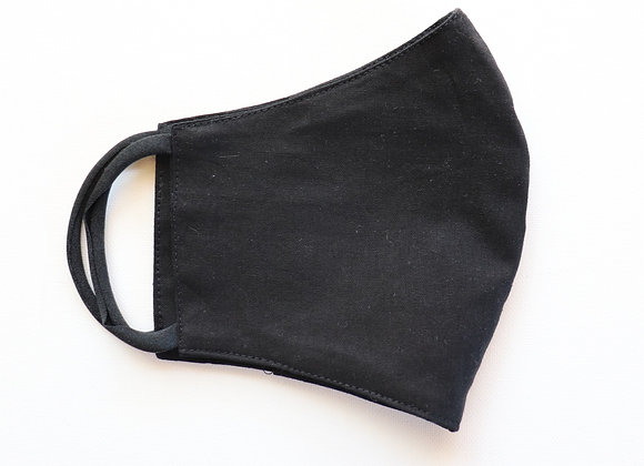 Black Adult Reusable Mask/Face Covering