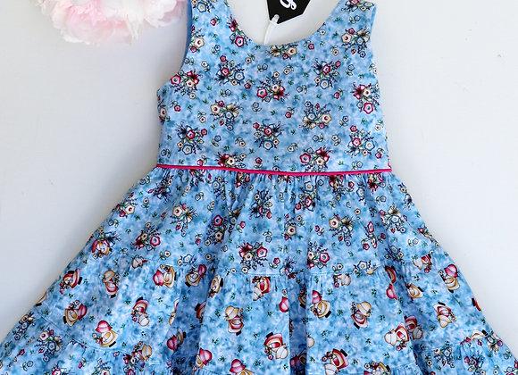 2 Yrs Blue Garden Dress