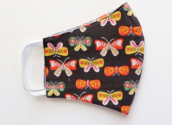 Orange Butterfly's Adult Reusable Mask/Face Covering
