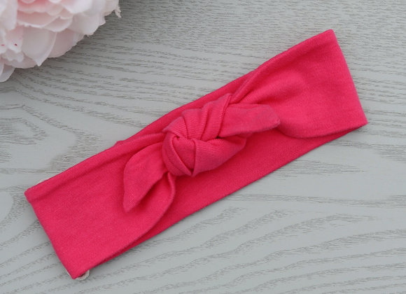 Candy Pink Head Ties