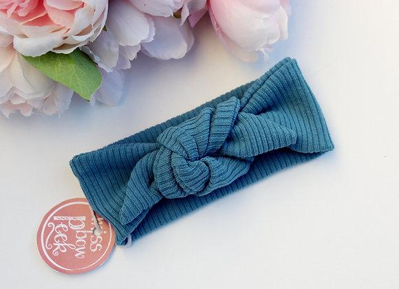Blue Rib Head Ties