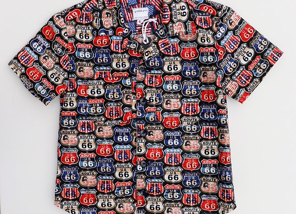4 Yrs Route 66 Shirt
