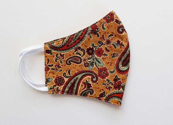 Paisley Adult Reusable Mask/Face Covering