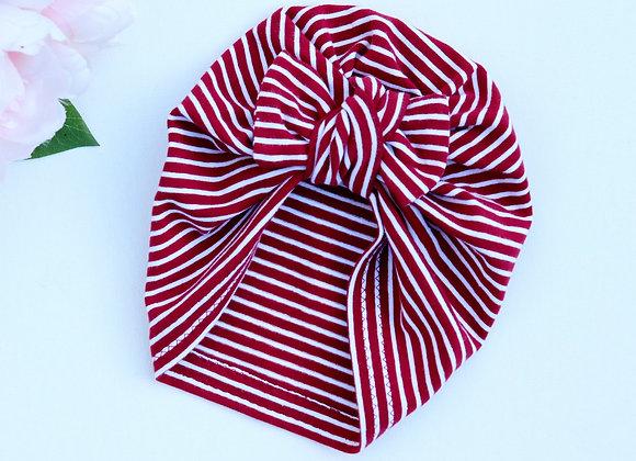 Red/White Turban