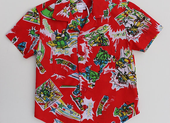 4 Yrs Ninja Turtle Shirt