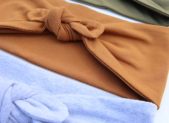 Plain Colour Bow/knotted Wide Head Ties