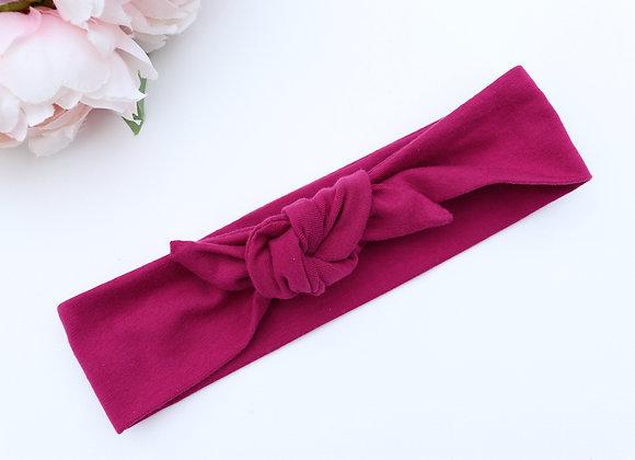 Bright Grape Head Ties