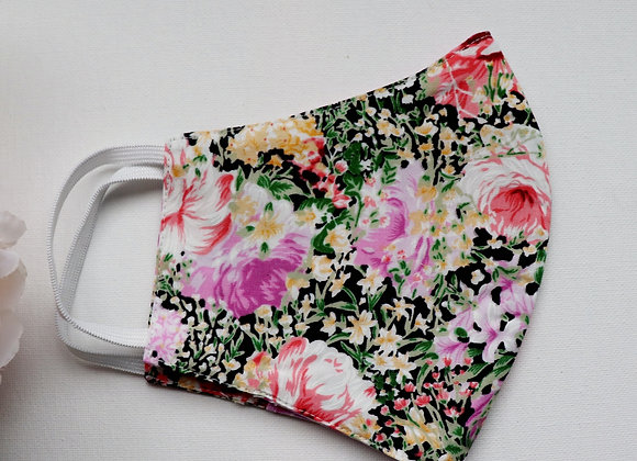 Adult Rose Garden Reusable Mask/Face Covering