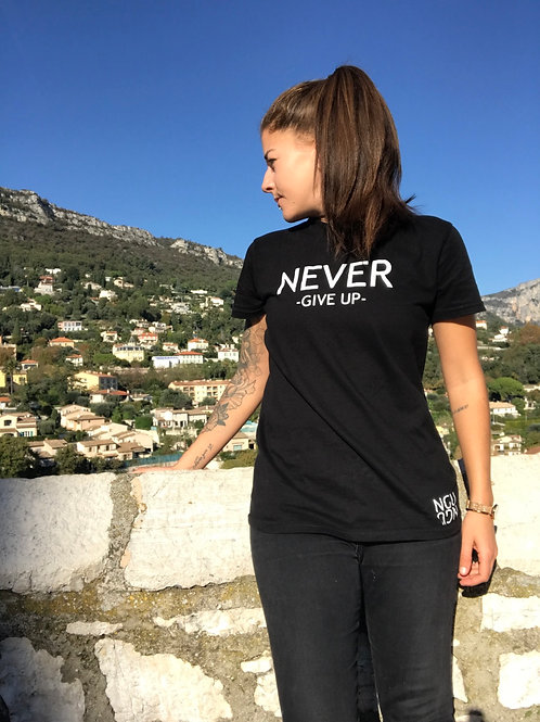 T-shirt NGU noir