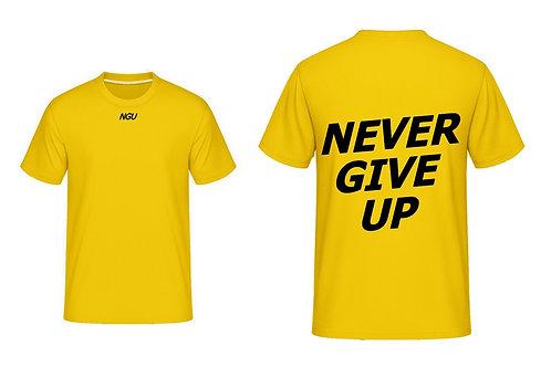 T-shirt NGU jaune
