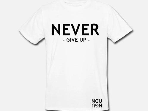 T-shirt NGU blanc
