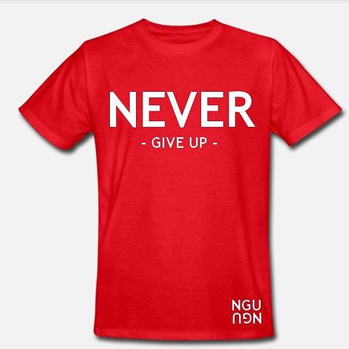 T-shirt NGU rouge