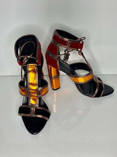 Bold Tribal Colored Sandal