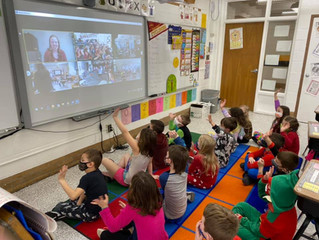 More than 100 students participated in our Read Across Iowa Virtual Celebration!