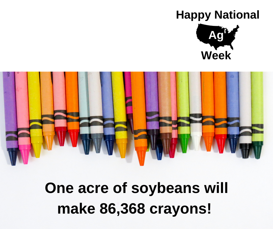 National ag week fun fact 7