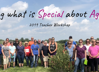 """Local Teachers Participate in two-day Workshop called, """"Exploring what is Special about Agriculture."""