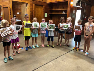Youth participate in ISUEO-Linn County Farm to Fork Summer Day Camps!