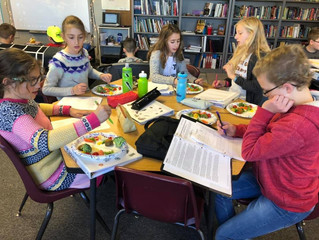 Students Compare Conventional and Organic Fruits and Vegetables!