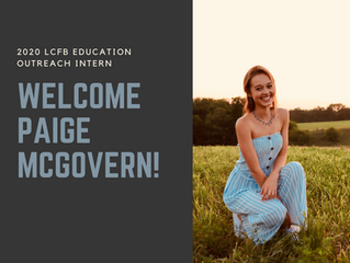 Welcome Paige McGovern