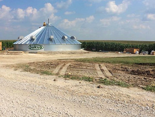 How is a Grain Bin Built?