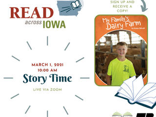 Linn County Education Outreach hosts Virtual Story Time!