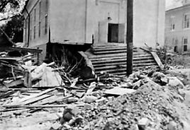 Damage After the Flood of 1955
