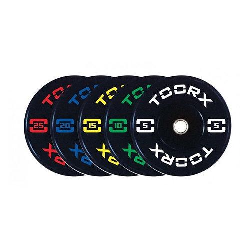 Disco Bumper Training Absolute diametro 45 cm ADBT da 5 a 20 kg