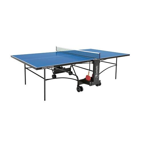 Ping pong Garlando Advance outdoor + 4 racchette + 18 palline omaggio