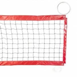 Rete beach volley da gara professionale con corda in acciaio Gammasport 6798/g