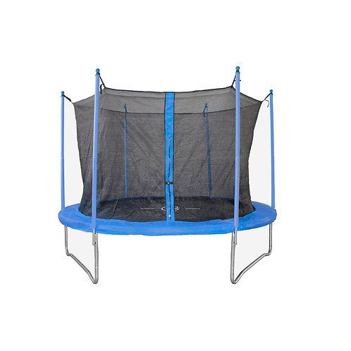 Trampolino elastico per esterno Combi M Garlando TRO-8 diam. 244 compresa rete