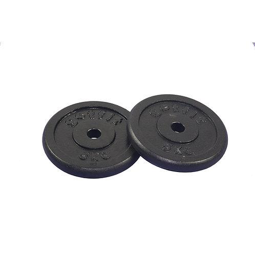 Disco in ghisa foro 2,5 cm da 0.5 a 20 kg