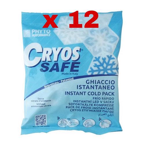 Ghiaccio istantaneo Cryos Safe Standard 12 buste da 18x15 cm P200.14
