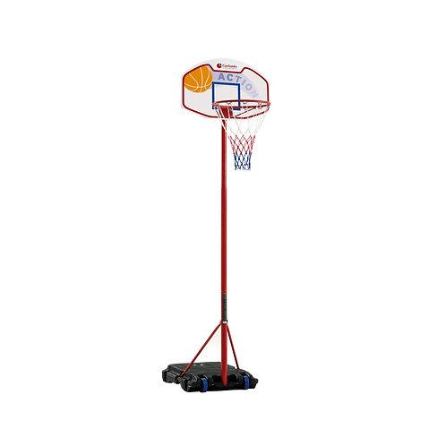 Tabellone basket con canestro e rete El Paso Garlando BA-21